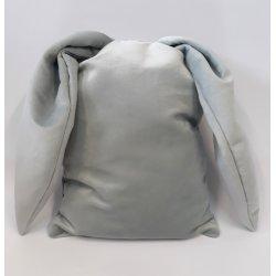 "Pilka dekoratyvinė pagalvė ""Rabbit ears"""