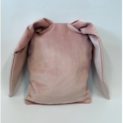 """Rožinė dekoratyvinė pagalvė """"Rabbit ears"""""""