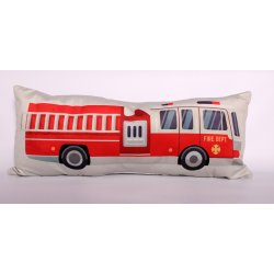 "Dekoratyvinė pagalvytė ""Fire truck"""