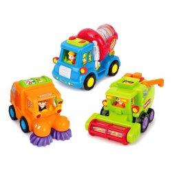 Mini transporto priemonės: kombainas, maišyklė, valymo mašina