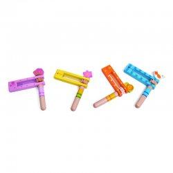 Muzikinis instrumentas - spalvinga kastanjetė
