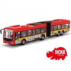 """Raudonas autobusas - """"City Express"""" 46 cm"""