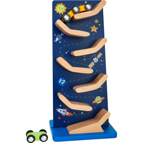 """Medinis bokštas su mašinėle """"Kosmosas"""" 18 mėn +"""