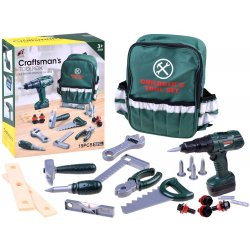 Įrankių komplektas su kuprine ir suktuku