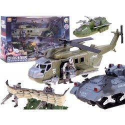 Kareivinis komplektas su tanku ir sraigtasparniu bei priedais