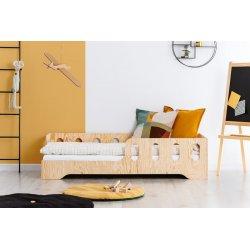 Viengulė medinė lovasu apsauga nuo iškritimo