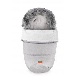 Pilkas miegmaišiukas - vokelis 100x50 cm