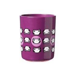 Violetinis puodelis su kačiukais 190 ml
