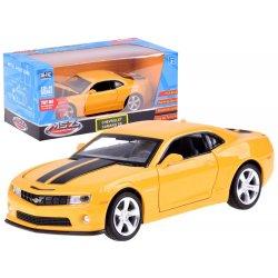 Geltonas Chevrolet Camaro 1:32 su švieselėmis ir garsais