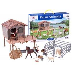 Gyvūnėlių su įvairiais priedais komplektas