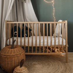 """Rudos spalvos kūdikių lovytė - """"Craft"""""""