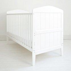 2 in 1 balta lova kūdikiams ir vyresniems 140x70 cm