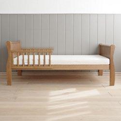 """Rudos spalvos viengulė lova - """"Noble"""" 140x70 cm"""