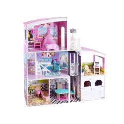 Lėlių namas su garažu