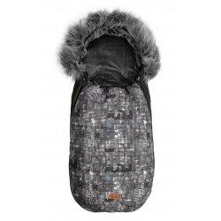 Tamsus miegmaišis su taškučiais 100x45 cm