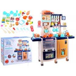 Didelis virtuvėlės rinkinys su maisto produktais