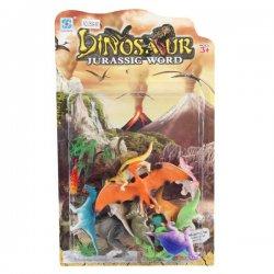 Spalvingas dinozaurų rinkinys 12 vnt
