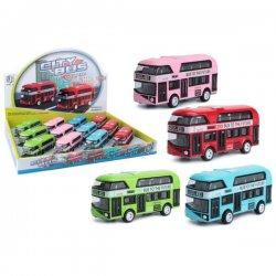 Mini dviaukščiai autobusiukai (įvairių spalvų)