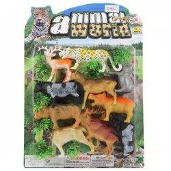 """Gyvūnėlių komplektas - """"Zoo world"""""""