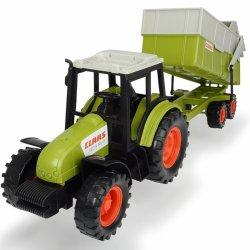 """Žalias traktorius su priekaba - """"Class"""""""
