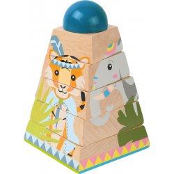 """Puzzle kubas - bokštas """"Džiunglės"""""""