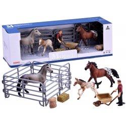 """Gyvūnų figūrėlės - """"Arkliukai fermoje"""""""