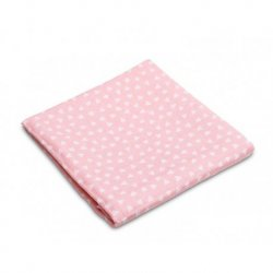 Muslin Rožinės medvilnės sauskelnės 70x80 cm