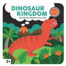 """Petit Collage magnetinė dėlionė """"Dinozaurai"""""""