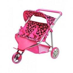 """Triratis lėlyčių vežimėlis - """"Klaudia"""""""