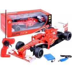 Raudona formulė-1 RC mašinėlė