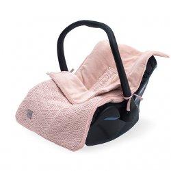 Vokelis automobilinei kėdutei/vežimėliui (rožinis)