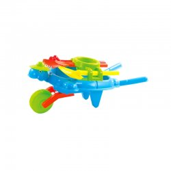 Karučio ir smėlio žaislų rinkinys (mėlynas)