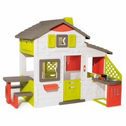 Žaislinis lauko sodo namelis su virtuve