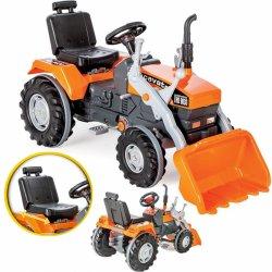 WOOPIE minamas vaikiškas traktorius - buldozeris