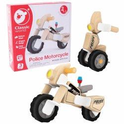 Medinis konstruktorius - Policijos motociklas