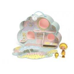 Djeco mini lėlių namelis Mia