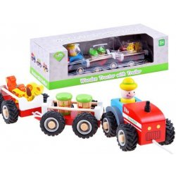 Medinis ūkininko traktorius