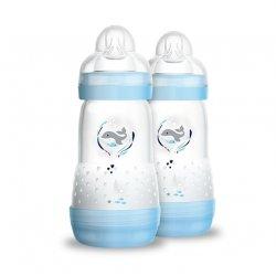 Berniukams skirtas buteliukas 2 vnt. / 260 ml