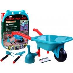 Didelis sodininko žaislų rinkinys (mėlynas)