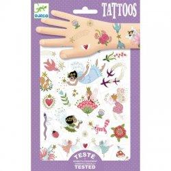 """Djeco laikinos tatuiruotės """"Fėjos ir draugai"""""""