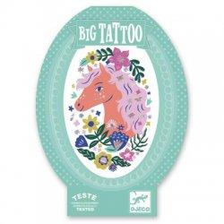 """Djeco didelė laikina tatuiruotė """"Pasakiškas žirgas"""""""