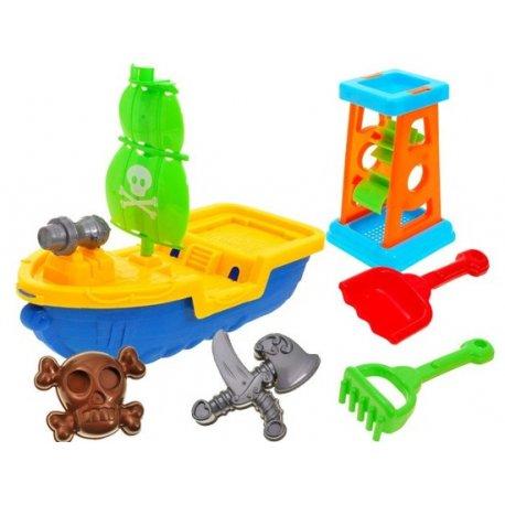 """Smėlio žaislų rinkinys ,,Piratų laivas"""""""