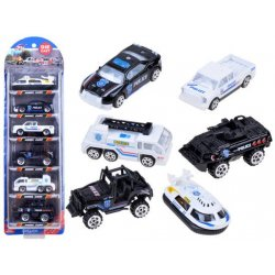 Policijos automobilių rinkinys (6 vnt.)