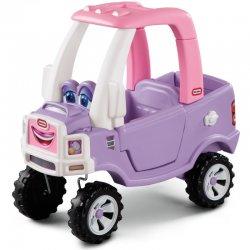 Rožinis princesės automobilis