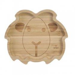"""Bambukinė mažylio lėkštė """"Liūtas"""""""