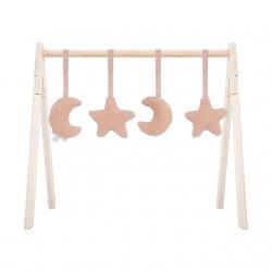 """Kūdikio veiklos stovo žaisliukai """"Mėnulis"""" (4 vnt.)"""
