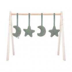 """Kūdikio veiklos stovelio žaislai """"Žvaigždelės"""" (4 vnt.)"""