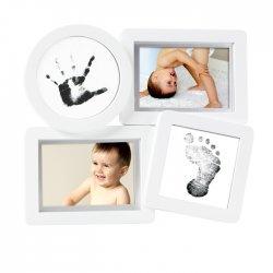 Rėmelis kūdikio rankytės ir kojytė atspaudams įamžinti