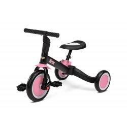 """2 in 1 Rožinis triratukas - balansinis dviratukas - """"Fox"""""""