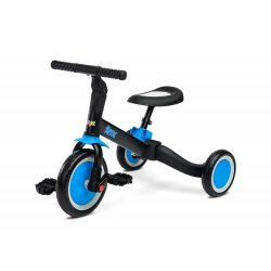 """2 in 1 Mėlynas triratukas - balansinis dviratukas - """"Fox"""""""